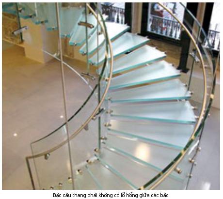 Tính bậc cầu thang theo phong thủy