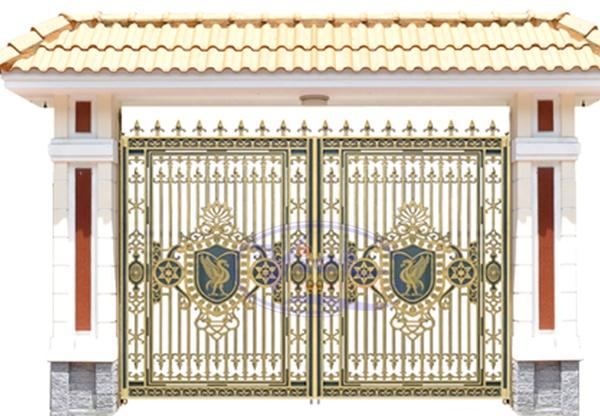 Cổng nhôm đúc -C04