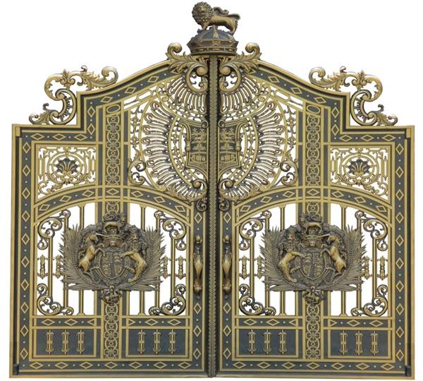 Mẫu cổng nhôm đúc - C05