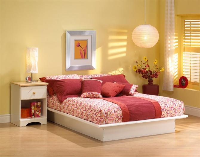 Bố trí giường ngủ hợp với mệnh cung