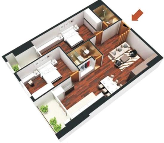 Xem hướng nhà - Chọn căn hộ chung cư hợp phong thủy