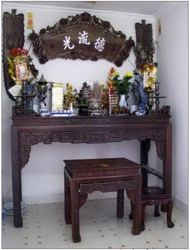Hướng đặt bàn thờ hợp phong thủy
