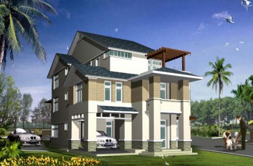 Xác định vị trí xây nhà theo từng hình dạng đất